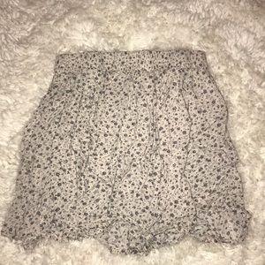 Brandy Melville Floral Skirt ONE SIZE